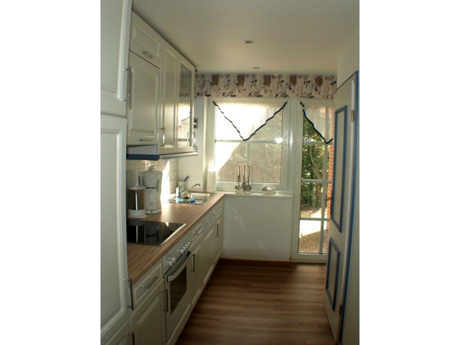 Separate küche mit dahinterliegender 2 terrasse