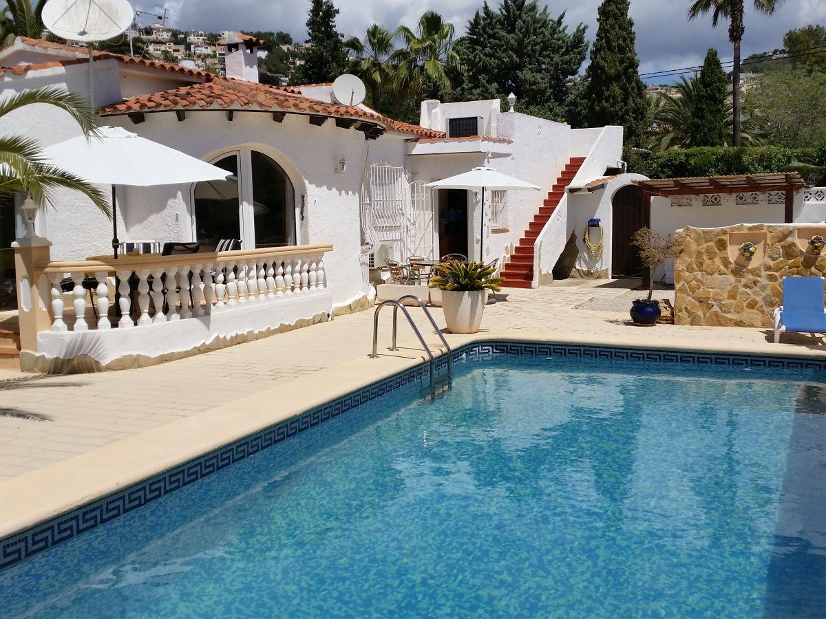 Ferienhaus Villa Romantica Benissa Alicante Costa Blanca