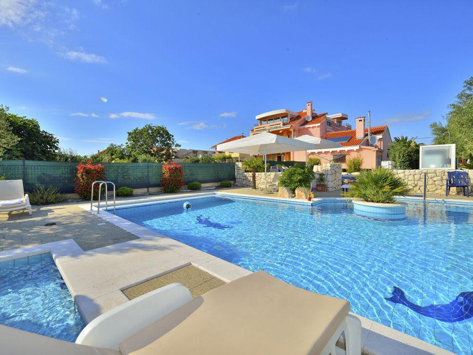 Schönste villa mit Pool in Zadar