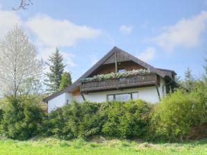 Ferienhaus Blick zum Rennsteig
