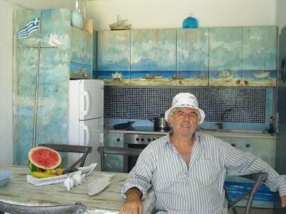 Ihr Gastgeber Manolis Pachakis