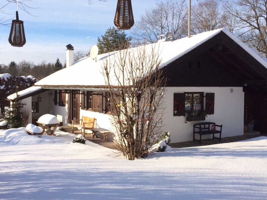 Ferienhaus BergeBlick im Winter