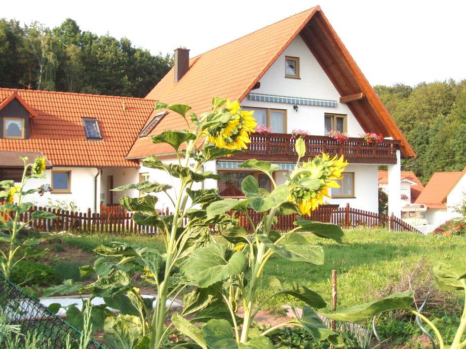 Unser Haus mit schöner Ferienwohnung