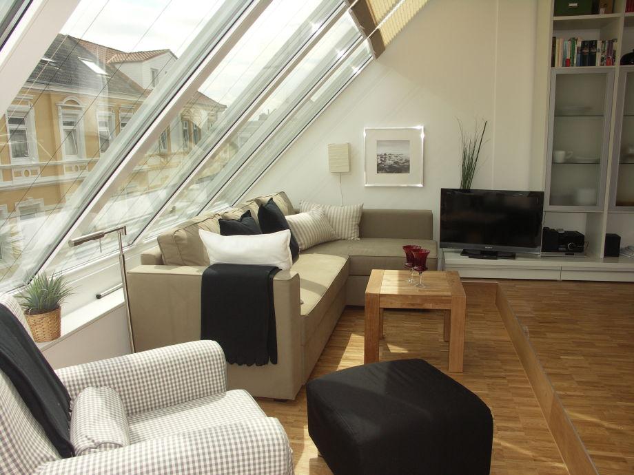 Wohnbereich - hell und gemütlich