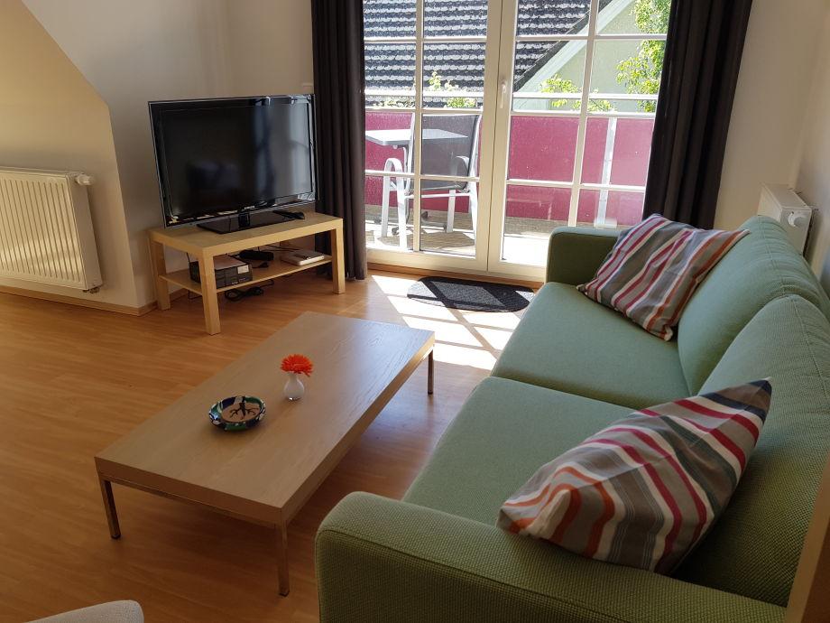 Wohnbereich mit 40 Zoll HD-TV