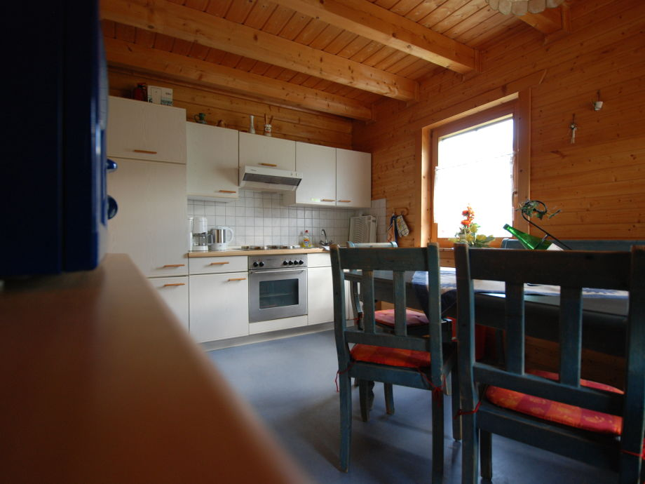 Landhaus Blockhaus am Silbersee, Hessisches Bergland Knüllgebirge ...