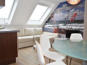 Ferienwohnung Haus Gertrude Wohnung II Hafenblick