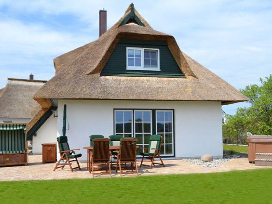 Haus Strohhut auf Usedom