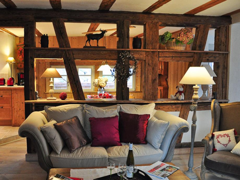 Wunderschöner romantischer Wohnraum