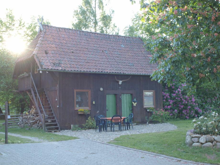 Unser Treppenspeicher-Ferienhaus mit Terrasse
