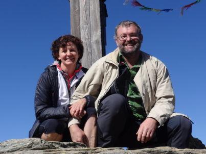 Ihr Gastgeber Otto und Martina Hanser