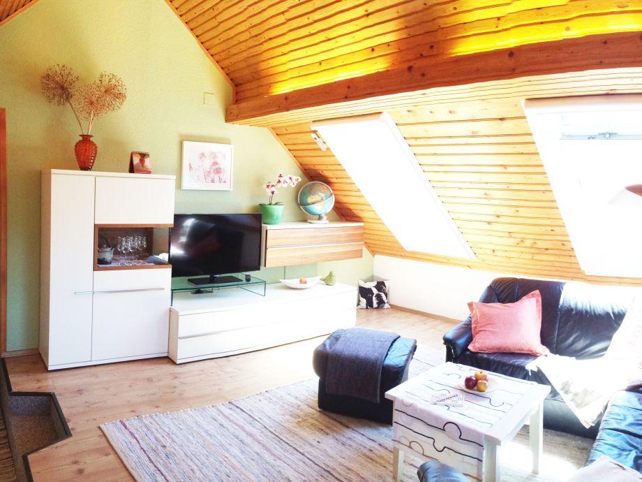 Der Wohnraum der Ferienwohnung 'Sommeregg'
