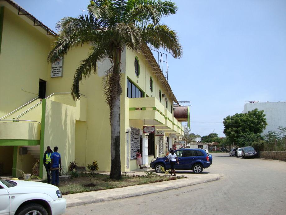 Das Apartment-Gebäude