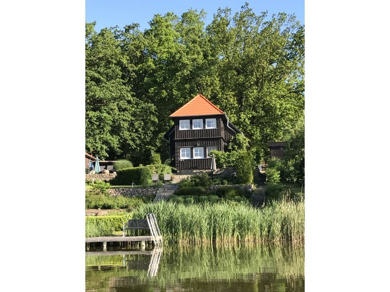 Holiday house at Schlabornsee lake