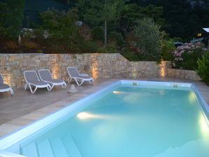 """Ferienhaus """"Casa Maddalena mit Pool und Seeblick"""""""