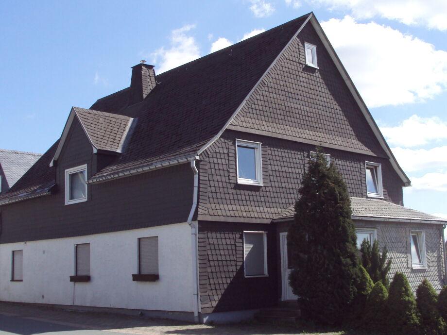 Blick auf das Haus am Nord Seite.