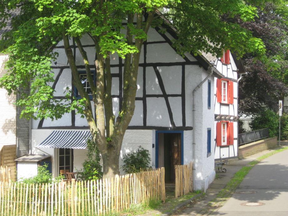 Das Kallmuth Cottage von außen...
