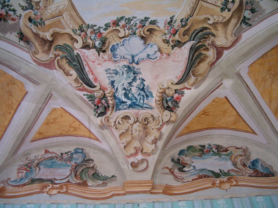 Die farben des rokoko Palazzo Urbani