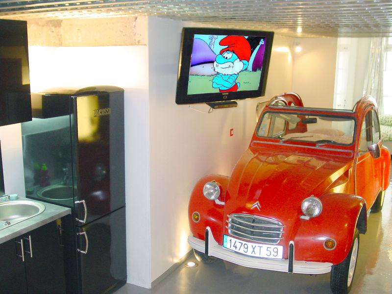 Holiday apartment Chez Bertrand, design guesthouse Montmartre