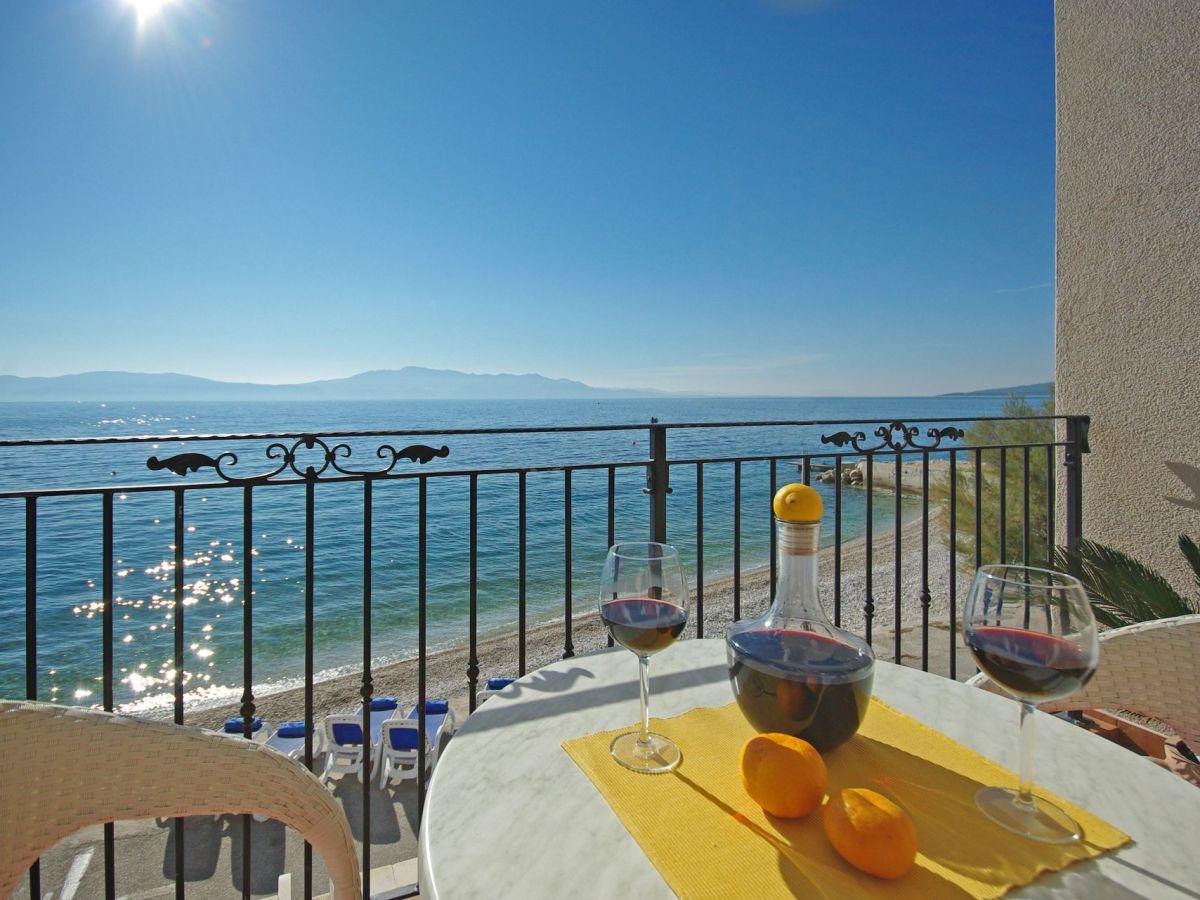 Ferienwohnung Direkt Am Strand Zaostrog Frau Jela Matutinovic - Mallorca urlaub appartement 2 schlafzimmer