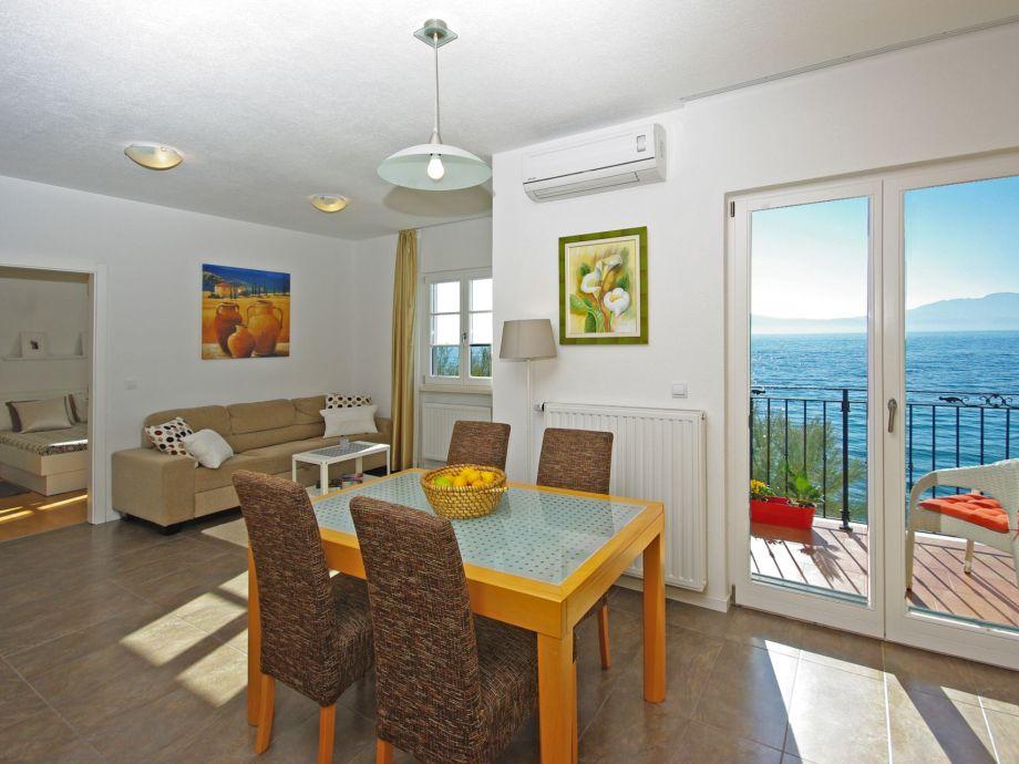 Ferienwohnung Direkt Am Strand Dalmatien Frau Jela Matutinovic - Mallorca urlaub appartement 2 schlafzimmer