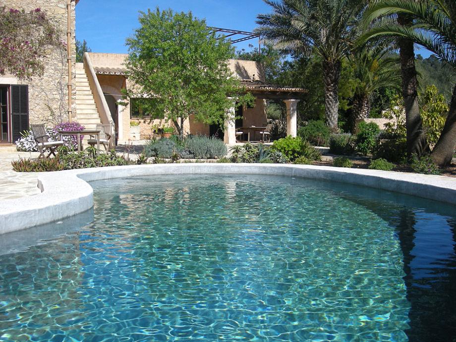 Aussenbereich mit Pool