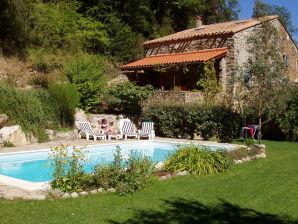 Apartment Le Pommier mit Pool