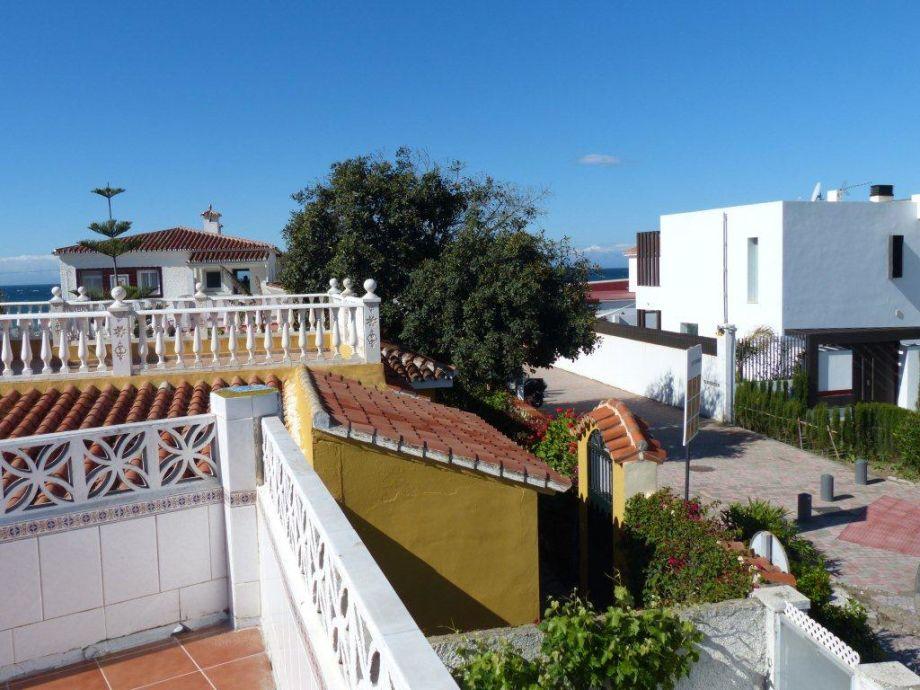 Außenaufnahme Beachvilla-Marbella am feinen Sandstrand