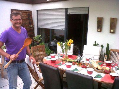 Ihr Gastgeber Armin Wedel
