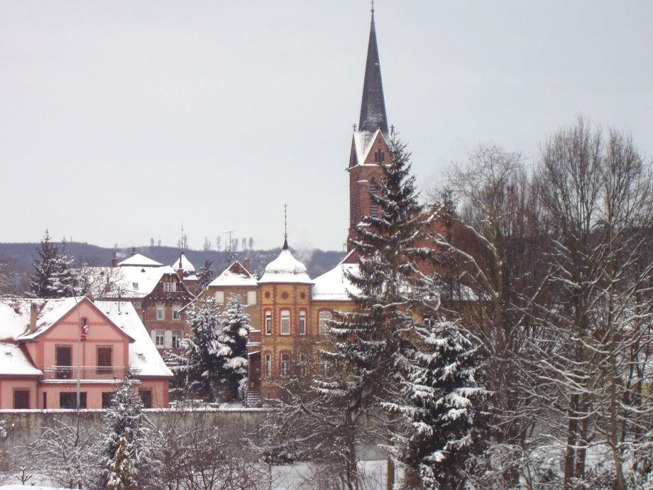 Blick auf die Stadtmitte von Zabern/Saverne