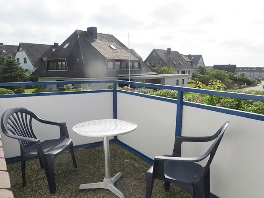 Balkon (mit Zugang über Schlafzimmer)