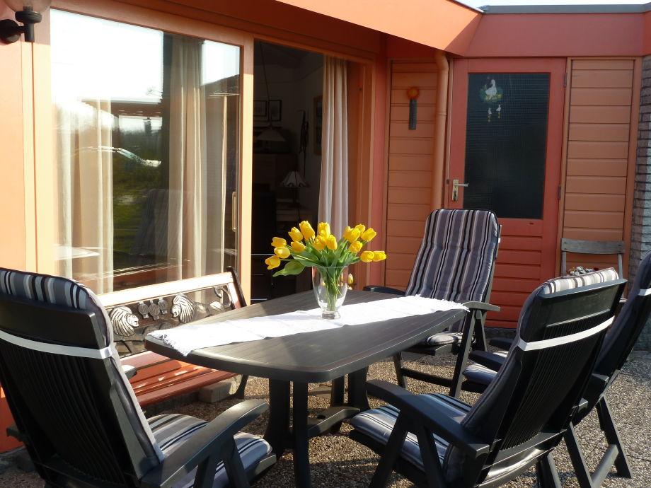 Terrasse mit Zugang Wohnbereich