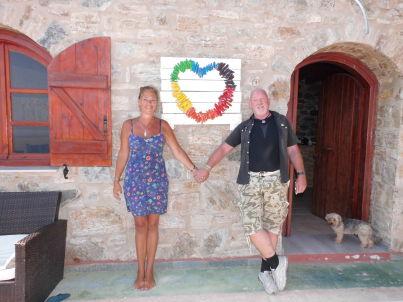 Ihr Gastgeber Katja und Wolfgang Düsener
