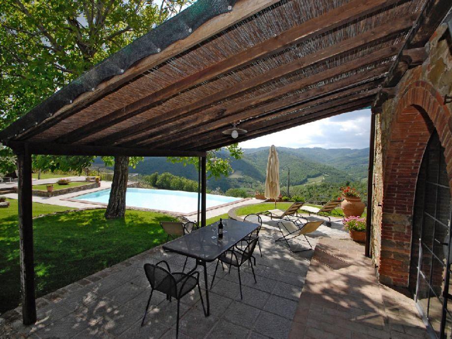 Frantoio sotto private Terrasse und Sonnenterrasse
