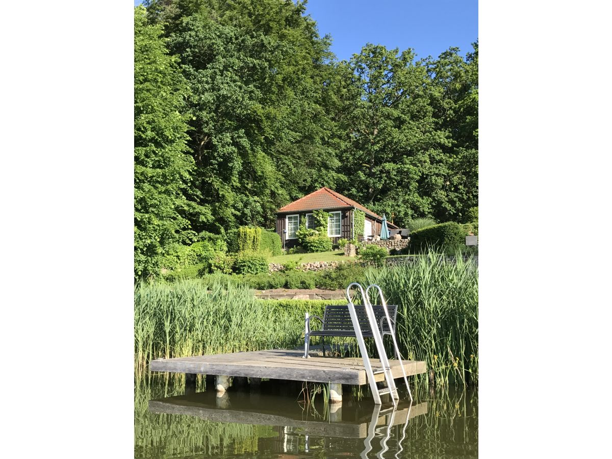 Bungalow at Schlabornsee lake, Mecklenburg Lake District - Family ...