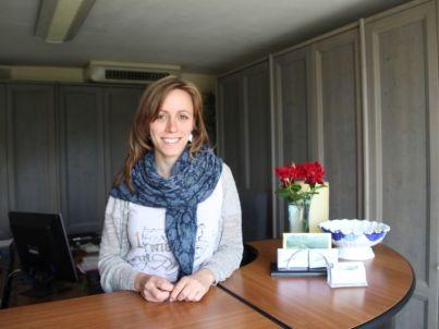 Your host Lucia Agati