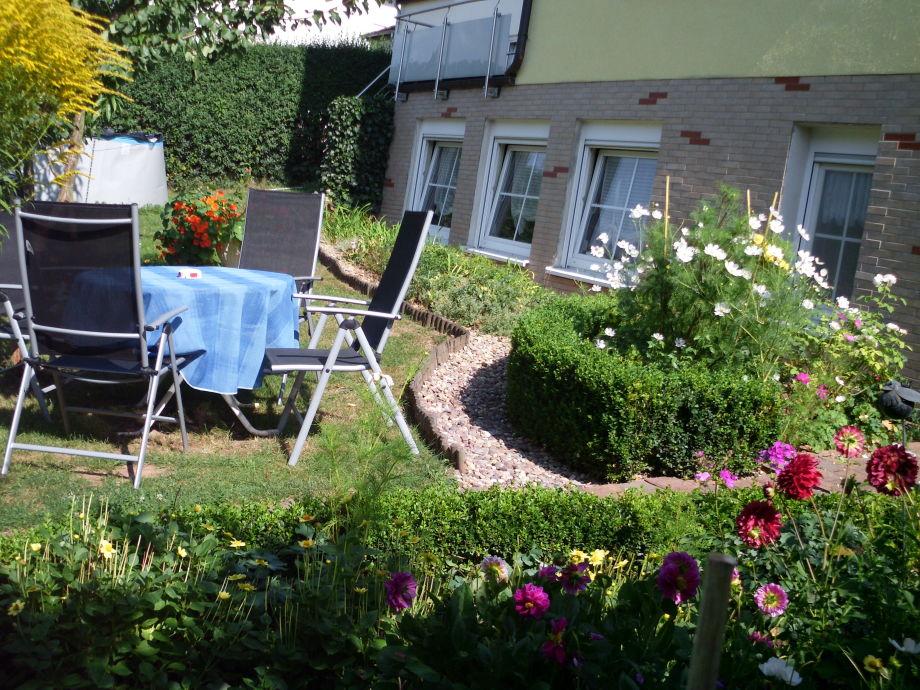 Sitzmöglichkeit im Garten