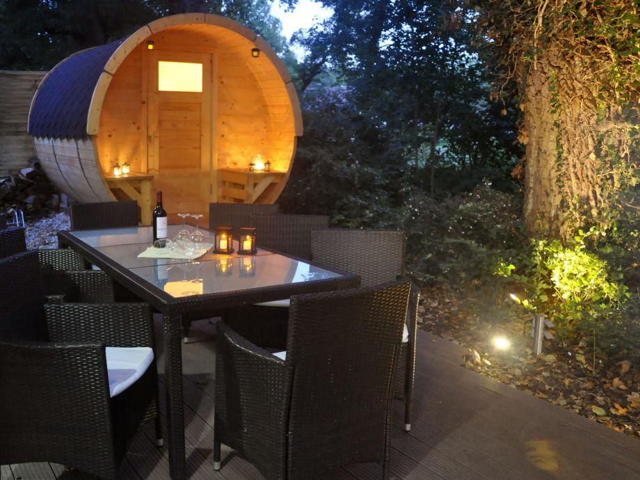 Abendstimmung am Saunafass