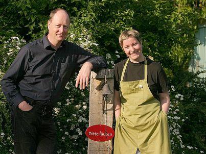 Ihr Gastgeber Ellen und Albrecht von Kessel