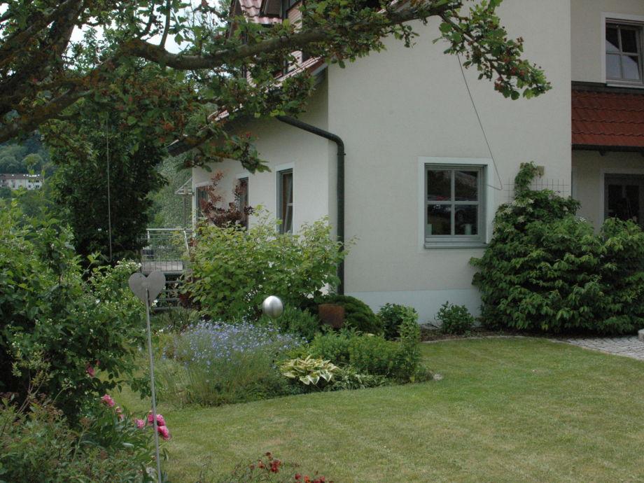view garden & house