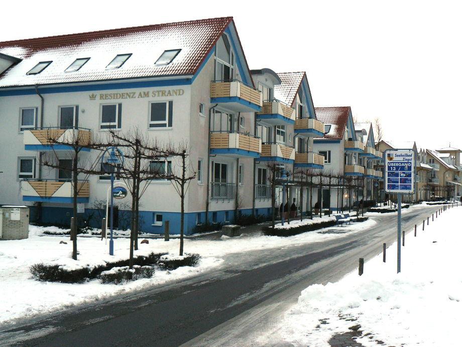 Residenz im Winter