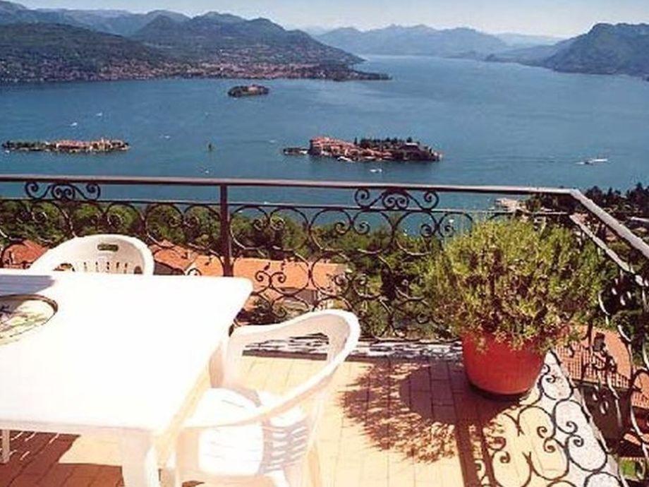 The terrace and the Borromeo Islands