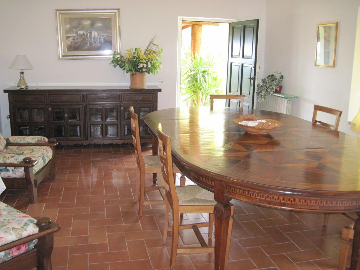 Ferienhaus casa la stella toskana am meer riviera della for Wohn und esszimmer