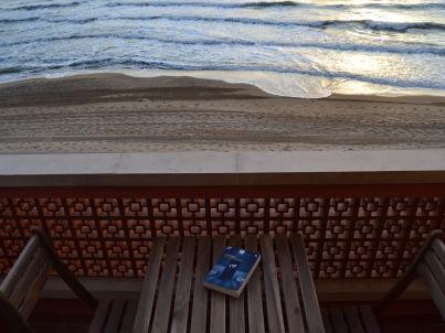 """""""Libeccio"""" in front of the sea"""