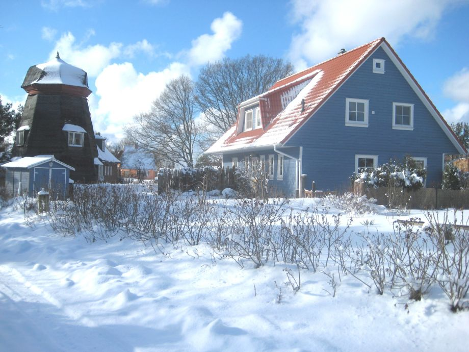 Darßer Smuggler Hus im Winter