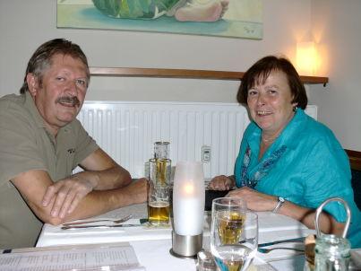 Ihr Gastgeber Eva und Gangolf Schmitt