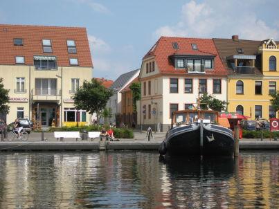 Yachthafen in der historischen Altstadt