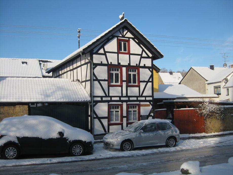 Ferienwohnung zu Erftbrücke im Winter