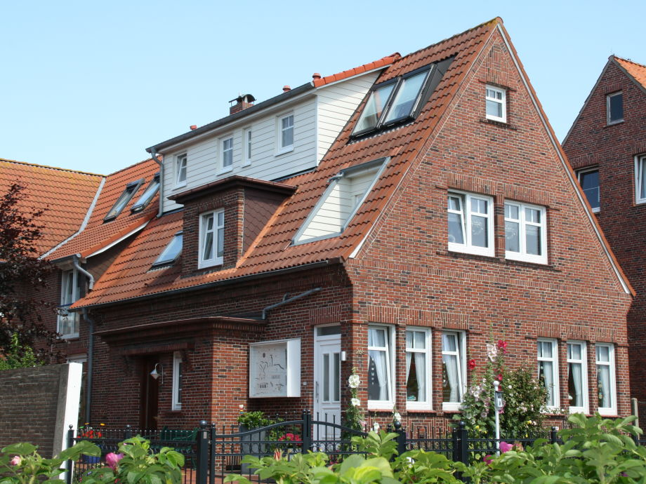 Außenaufnahme im Haus Cramer Norderney