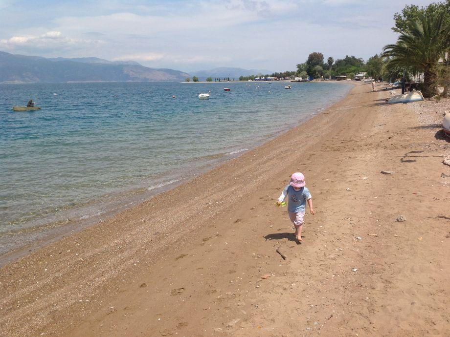 Strand in Rododafni